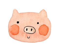 PIGS -  ILLUSTRATION on Pinterest | Pigs, Little Pigs and Pencil