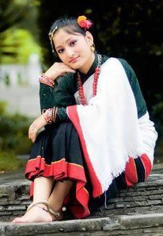 ネワール族の衣装