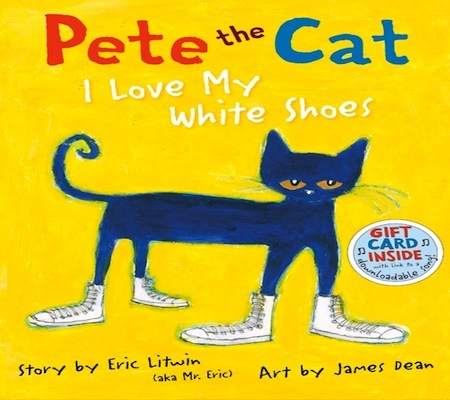 Gayle's EC1A class 2015 - 16: Pete the cat In EC1 this week