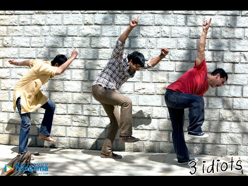 Three 3 Idiots Hindi Movie Wallpaper Indian Bollywood Film Pictures | Free Wallpapers