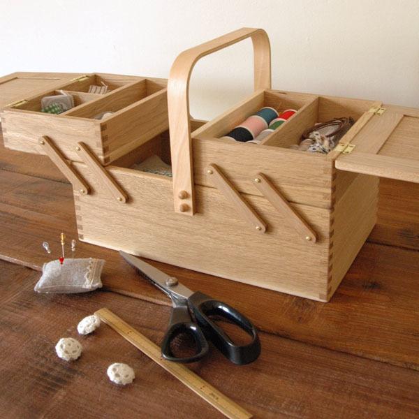 倉敷意匠 ならのソーイングボックス(裁縫箱) [17079-02]|ライフスタイルショップキナル
