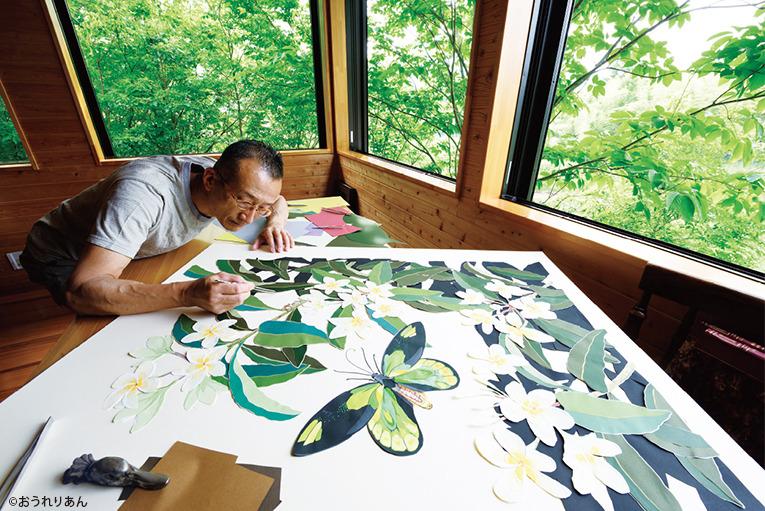今森光彦 自然と暮らす切り紙の世界展 | 三越 日本橋本店 | 三越 店舗情報
