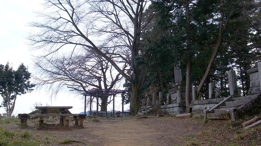 八王子城・松木曲輪