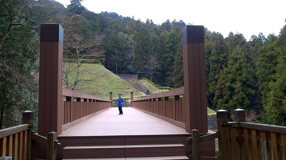 八王子城・曳橋