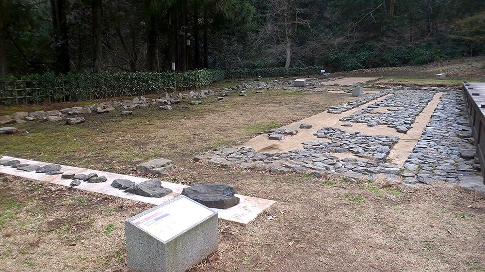 八王子城・庭園跡