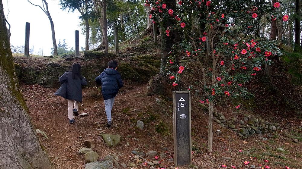 鉢形城・石垣