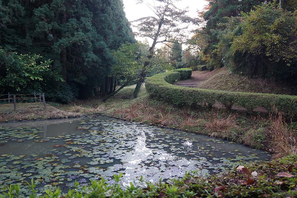山中城・田尻の池