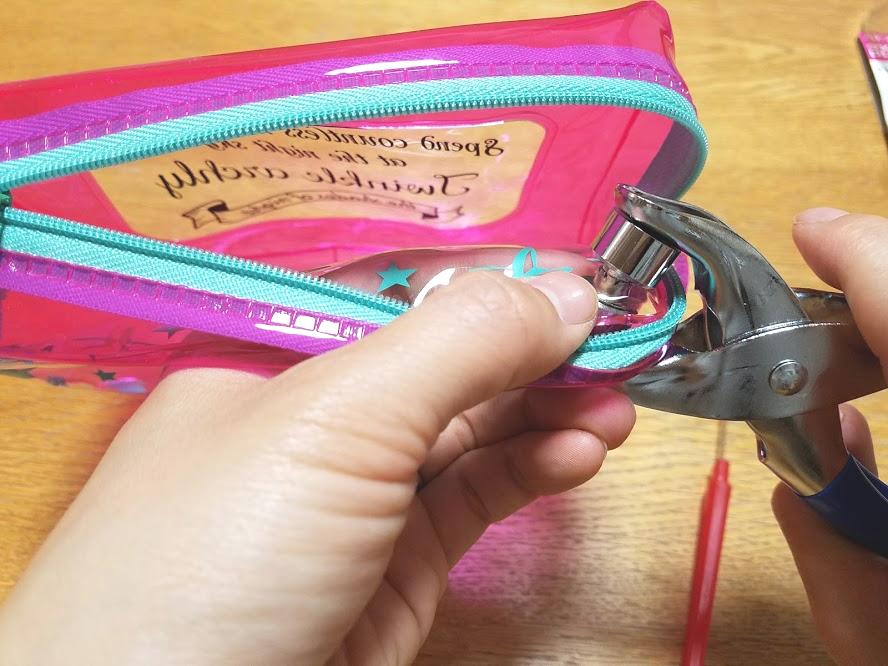 ビニールショルダーバッグの作り方