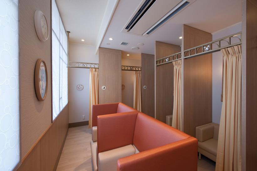 ディズニーパーク内ベビーセンター:授乳室