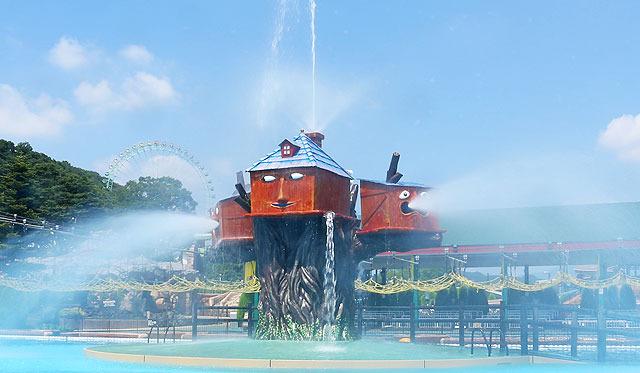 バッシャハウス [屋内プール・アトラクション] | サマーランドガイド | プールの東京サマーランド!屋外・屋内・流れるプールの遊園地!