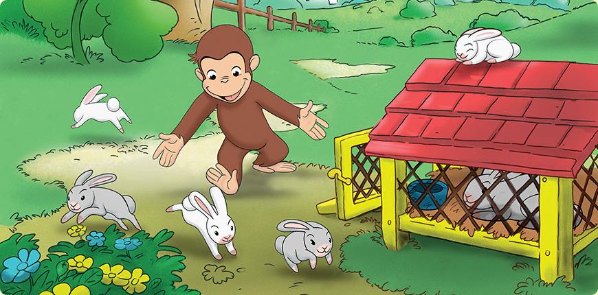 海外アニメ「おさるのジョージ Curious George」